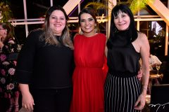 Morgana Staus, Márcia Travessoni e Rosalinda Pinheiro