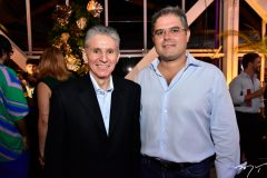 Pádua Lopes e Edson Queiroz Neto