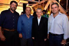 Rafael Rodrigues, Fernando Travessoni, Pádua Lopes e Edson Queiroz Neto