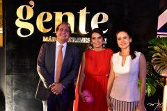 Ricardo Bacelar, Márcia Travessoni e Manoela Queiroz Bacelar