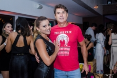 Karina Ramos e Celmo Guimarães