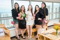 Nara Guimarães, Luciana Lomonaco, Izabel Lomonaco, Gabrielle Castelo e Priscíla Ferrer