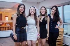 Tayná Freire, Izabel Lomonaco, Carolina Silton e Camila Bonfim