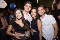 Prisicila Alves, Matheus Lavor, Patricia Chaves e Daniel Alves