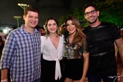 Rafael Luna, Fernanda Rios, Aline e Thiago Carolino