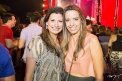 Tina Fiuza E Rafaela Benevides