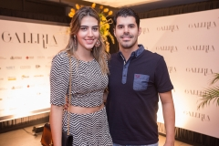 Ivina Araripe e Igor Barchar