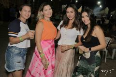 Claudia Oliveira, Ariadne Teles, Brenda Bernardo e Debora Forte