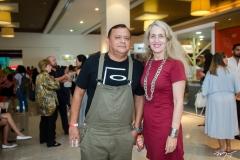 Alan Brasil e Adlia Magalhães