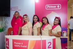Alexsandro Silva, Tania Marques, Tatiane Martins, Juliane Araújo e Roniele Naiane