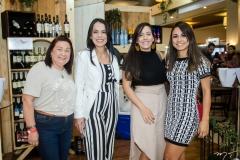 Cristina Ferreira, Jardênia Siqueira, Marjorie Lopes e Ingrid Baracho