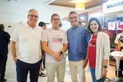 Fernando e Severino Ramalho Neto, Léo Gondim e Joana Ramalho