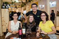 Nicole Macedo, Telma Regina Braga, Janusa Brasil e Juan Carlos