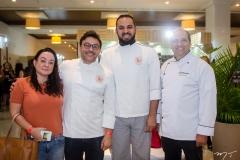 Raquel Cavalcante, Carliano Pereira, Ronaldo Cândido e Fábio de Luca