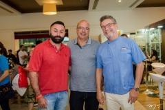 Silvio Queiroz, Sandro Gouveia e Léo Gondim