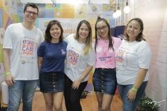Davi Cacau, Vanessa Benigno, Amanda Cortez, Anice Yandra e Clara Marques