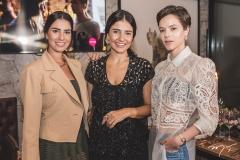 Nicole Pinheiro, Alice Ferraz e Paulinha Sampaio
