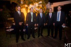 Celso Rocha, Marcelo Pinto, Aelio Silveira, Alfredo Cruz e Rui do Ceará