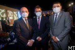 Sergio Aguiar, Evandro Leitão e Sérgio Lopes
