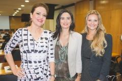 Aletéia Lopes, Marlene Pinheiro e Stephanie Dorner Falcão