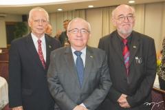 Dieter Gerding, Eduardo Bezerra e Hans-Jürgen Fiege