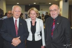 Dieter Gerding, Ingrid Gerding e Hans-Jürgen Fiege