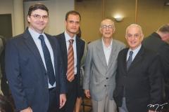 Laerte de Castro Alves, Enio Leão, Eli Bravo e José Frenquio