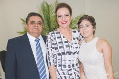 Roberto Galdino, Aletéia Lopes e Laisa Galdino