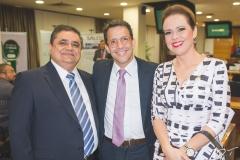 Roberto Galdino, Raul Amaral e Aletéia Lopes