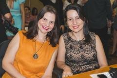Silvana Maia e Ana Maria Castro Alves