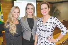 Stephanie Dorner Falcão, Mara França e Aletéia Lopes