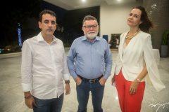 Aluíso Filho, Marcos ALbuquerque e Mirian Pereira