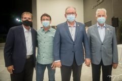 Beto Studart, Francílio Dourado,  Ricardo Cavalcante e Carlos Prado