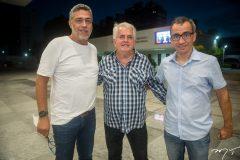 Ricardo Petral, Antunes Mota e Emílio Ramalho