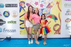 Larissa, Valeria e Luana Férrer