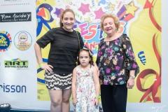 Leda Craveiro, Sarah Linhares e Ledinha Craveiro (1)