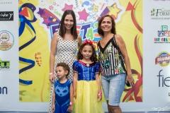 Lucas, Milena, Letícia Guidolim e Rose Pires