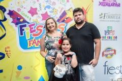 Veronica França, Ana Lara França e Valter Martins