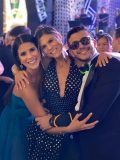 Marcela, Mariana e Felipe Pinto