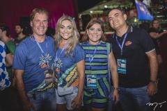Arthur e Célia Magalhaes, Gisela e Herbert Vieira