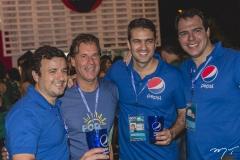 Pio Rodrigo, Arthur Magalhaes, André Macatrão e Ghiotto Felipe