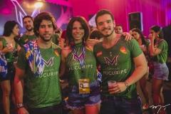Rodrigo Mota, Lina Franck e Thiago Wanderley