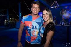 Aymar Rodrigues e Bianca Tavares