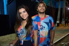 Camila Nogueira e Rômulo Leite