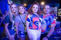 Célia Magalhães, Gisela Vieira, Lisieux Brasileiro e Thiago Holanda