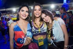 Jéssica Castro, Thalita Yonço e Ana Lívia Cerqueira