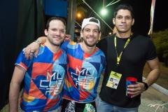 Pedro Campos, Pedro Lins e Rodrigo Bastos