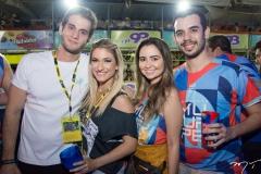 Ravi Macedo, Bruna Magalhães, Amanda Girão e Daniel Victor