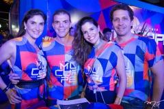 Sídia Holanda, Lourenço Bizarria, Ticiana e Bruno Oliveira