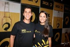 Fernando Melo e Mariana Rech